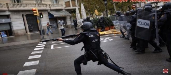 Referendum for Catalan Independence brings chaos and violence