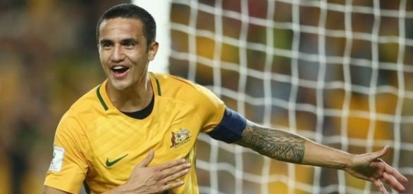 Australia-Siria 2-1, doppietta dell'esperto bomber Tim Cahill