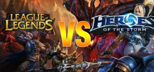 League of Legends VS Heroes of the Storm : Le duel des MOBA