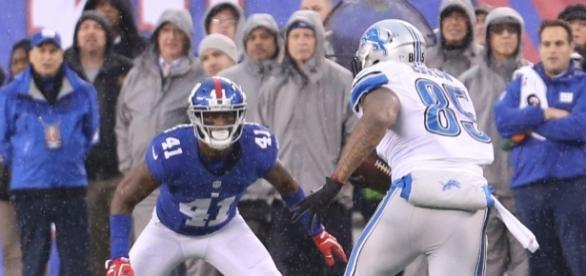 Veteran cornerback Dominique Rodgers-Cromartie was suspended indefinitely by the Giants. Image credit: Bruce Adler/Flickr Creative Commons