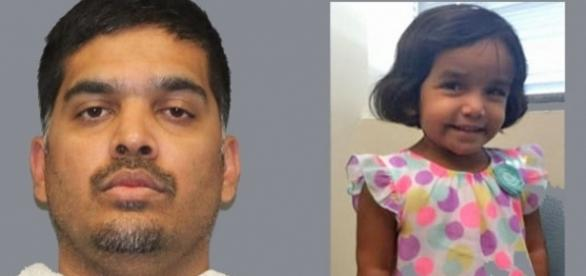 Wesley Mathews faces charges after making his daughter Sherin stand outside at night as punishment [Images courtesy Richardson Police Department]
