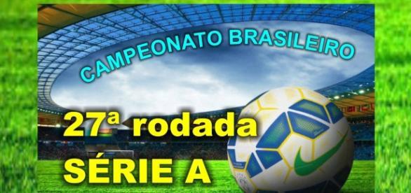 Começa hoje a 27ª rodada pelo Campeonato Brasileiro