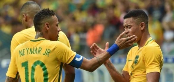 Parceria de sucesso entre Neymar e Gabriel Jesus