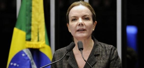 Gleisi Hoffmann é Presidente do PT