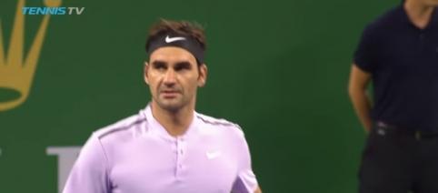 Roger Federer wins against Alexandr Dolgopolov - Youtube/Tennis TV Channel