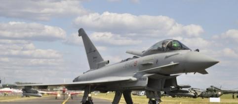 The eurofighter the backbone of the SAF.[ Image - CCO Public Domain | Pixabay]