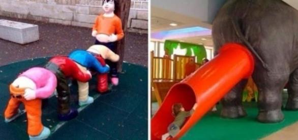 Alguns brinquedos estranhos podem ser bem bizarros