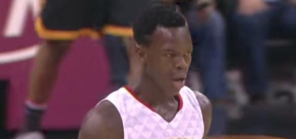 Dennis Schroder and the Hawks host the Dallas Mavs in Thursday's NBA preseason action. [Image via NBA/YouTube]