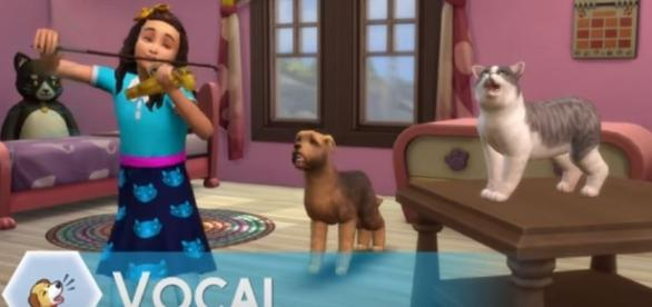 Fans are thrilled to see the create-a-pet gameplay in new trailer for 'The Sims 4: Cats and Dogs.' Image Credit: The Sims/YouTube