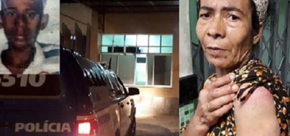 Resultado de imagem para Após agredir a própria mãe com um porrete, jovem recebe três tiros na Bahia