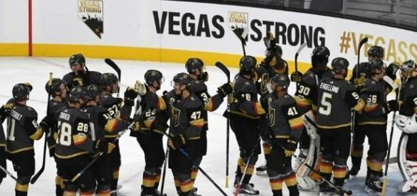 Las Vegas Golden Knights. [Image Credit: GoldenKnights/Twitter]