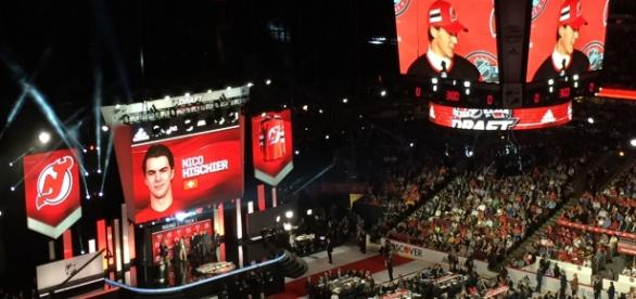 Devils' first overall pick get his first professional point. [Image Credit: Wikimedia Commons]