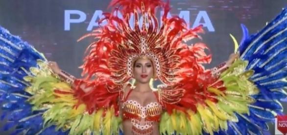 Panama's national costume, [Image Credit: Voice Of Reason / YouTube]