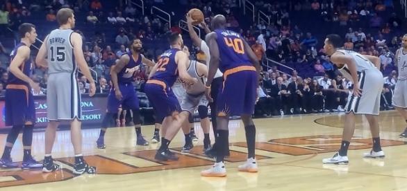 Phoenix Suns basketball |[ Image/source: Al_HikeAz/Flickr]