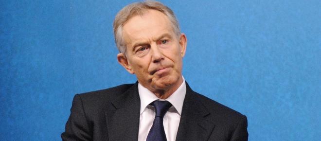 Tony Blair says the blockade against Gaza was wrong