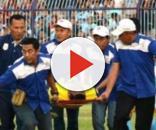 Muere portero tras chocar con su compañero en Indonesia - com.mx