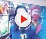 Pedófilo pega no seios de criança ao vivo (Foto: Reprodução/Globo Nordeste)