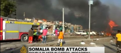 Somalia: Mogadishu rocked by twin bomb blasts, dozens killed -Image credit - Al Jazeera English | YouTube