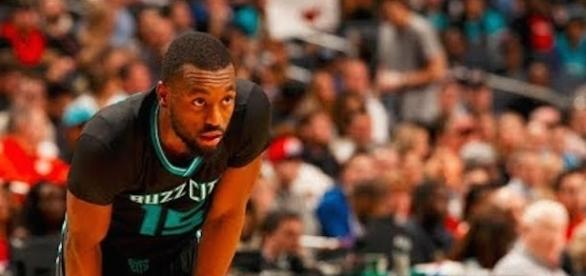 Kemba Walkers led the Charlotte Hornets to a 15-point win over Dallas on Friday in NBA preseason action. [Image via NBA/YouTube]