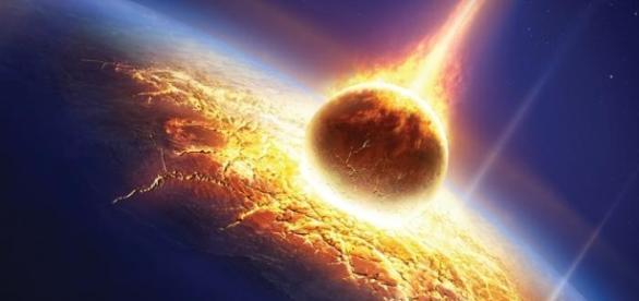 O impacto do planeta X com a Terra causará mudanças