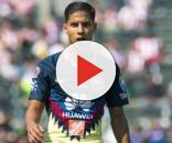 El joven Diego Lainez en un partido con el Club América