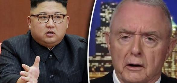 Un general SUA a dezvăluit viitorul crizei nucleare din Peninsula Coreeană - Foto: Sunday Express (Credit -Getty; MSNBC)