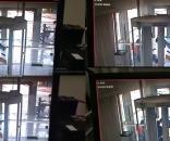 Imagens da câmera da agência do Banco