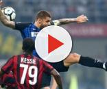 Uno scatto di Inter-Milan 3-2.