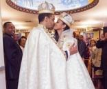 Ariana Austin e o príncipe Joel Makonnen se casaram em setembro