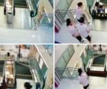 Diese Frau wurde von einer Rolltreppe verschluckt Quelle:scmp.com