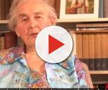 Esta idosa foi condenada a 6 meses de prisão por ter defendido um dos movimentos mais cruéis da história da humanidade (Foto: Captura de vídeo)