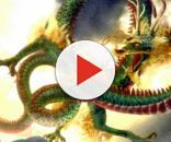 Ritrovato lo scheletro di un dragone cinese.
