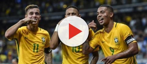 Coutinho, Neymar e Gabriel Jesus, il temuto tridente del Brasile che potrebbe già sfidare l'Italia (se si qualifica) al primo turno dei Mondiali
