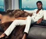 Campanha traz homens nus como objetos (Foto: Divulgação/Suistudio)