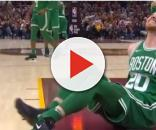 Celtics' Gordon Hayward suffered a dislocated ankle and a broken tibia vs. Cavs - image - Ximo Pierto/Youtube