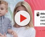 Filho de Ana Hickmann sofre ataque na web