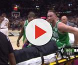 Gordon Hayward suffers an awful leg injury Image credit- NBALife/YouTube