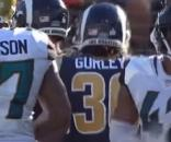 Todd Gurley against the Jaguars. [Image Credit: NFL/YouTube]