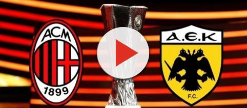 Europa League, Milan-AEK Atene