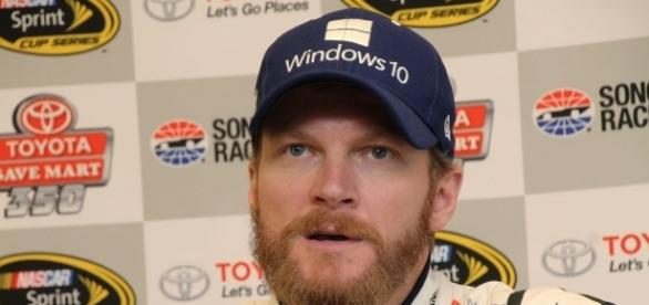 As his retirement nears, Earnhardt Jr is prepping for fatherhood. [Image Credit: Sarah Stierch/Wikimedia Commons]