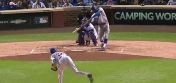 Chris Taylor - [Image via Dodgers Highlights/YouTube screencap]