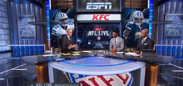 Ezekiel Elliott is the talk of the NFL world heading into Week 7. -- YouTube screen capture / ESPN