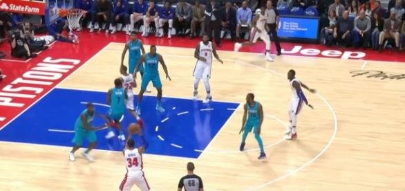 GAME RECAP Pistons 102, Hornets 90 via NBA tube channel