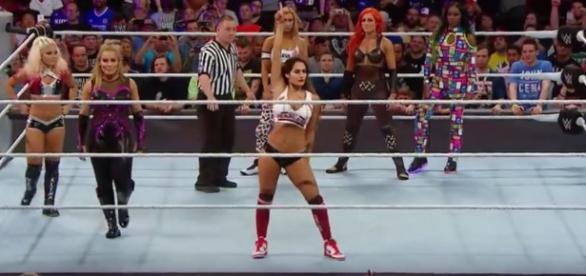 Highest paid WWE divas. [Image credit:WWE/YouTube]