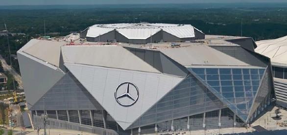 Mercedes-Benz stadium, Atlanta (Photo Image MLS/Wikimedia Commons)