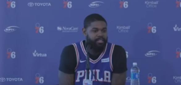 Amir Johnson - Full Press Conference - 2017 Sixers Media Day | Sep 25, 2017 | NBA Season[ Image - Ximo Pierto | YouTube]