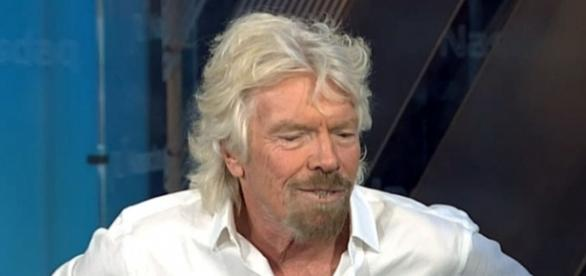 Virgin boss Richard Branson spoke about his interactions with U.S. President Donald Trump prior to his election. [Image credit: CNBC/YouTube]