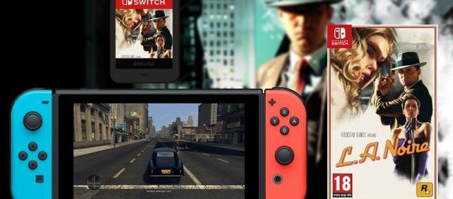L.A Noire, bientôt disponible sur Nintendo Switch.