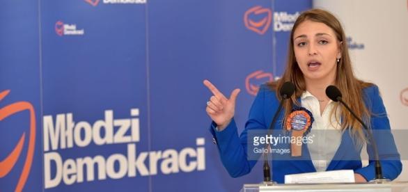 Kinga Gajewska z Platformy Obywatelskiej ośmiesza się w mediach (fot. gettyimages.co.uk)