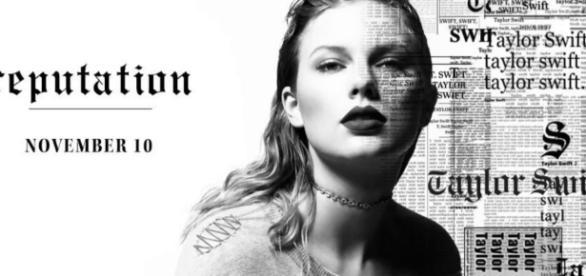 Taylor Swift's new album. [Image via Kajal/YouTube screencap]